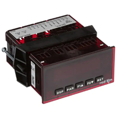 Red Lion Controls DP5P0010 Process Meter w/Red Backlit Display & DCV Power