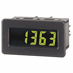 Red Lion Controls DT800010 5-Digit Digital Rate Indicator w/Yellow/Green Backlit LCD Display