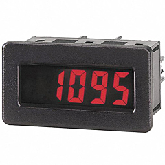 Red Lion Controls DT800020 5-Digit Digital Rate Indicator w/Red Backlit LCD Display