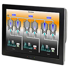 "Red Lion Controls G15 Graphite - Operator Interface w/15"" Rugged Touchscreen Display"