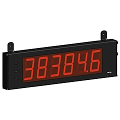"Red Lion Controls LD4A05P0 4.00"" Large Digit Display - DC Volts, DC Current & Process"