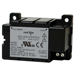 Red Lion Controls MLPS1000 Power Supply - 85-250 ACV w/12 DCV Output for DT8, CUB4 & CUB5