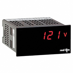 Red Lion Controls PAXLHV00 PAX LITE AC Voltage Meter 0-600 w/Red LED Display & ACV Power