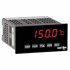 Red Lion Controls PAXT0000 Temperature & RTD Meter w/Red LED Display & ACV Power