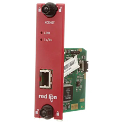 Red Lion Controls XCENET00 - Data Station Plus Option Card - 10/1000 Ethernet