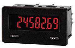 Red Lion Controls  CUB5TCB0 - Temperature Meter - Miniature 5-Digit w/Red-Green Backlit Display