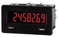 Red Lion Controls  CUB5TCR0 - Temperature Meter - Miniature 5-Digit w/Reflective Display