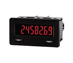 Red Lion Controls CUB5B000 - 8-Digit Miniature Dual Counter & Rate Meter