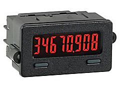 Red Lion Controls CUB7C Series Miniature 8-Digit Counter