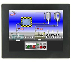 "Red Lion Controls G10 Graphite - Operator Interface w/10"" Rugged Touchscreen Display"