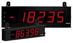 """Red Lion Controls LD4A05P0 4.00"""" Large Digit Display - DC Volts, DC Current & Process"""