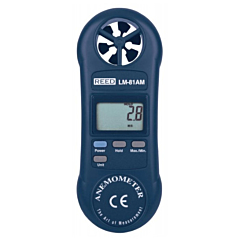 Reed Instruments LM-81AM Compact Vane Anemometer