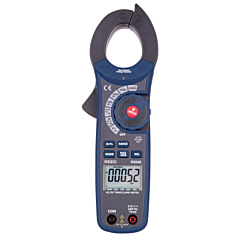 Reed Instruments R5040 Clamp-on Multimeter - 1000 AC/DCA, 750 ACV, 1000 DCV True-RMS w/NCV