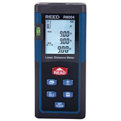 Reed Instruments R8004 Laser Distance Meter - 130 Ft.