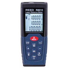 Reed Instruments R8010 Laser Distance Meter - 330 Ft.