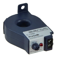 Senva C-1320 Adjustable Solid-Core AC Current Transducer - 0-50ACA/0-30AC/DCV
