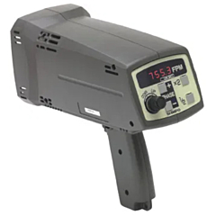 Shimpo Instruments DT-725KIT Stroboscope Battery Powered w/120VAC Charger, Extra Flash Tube & Case