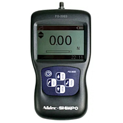 Shimpo Instruments FG-3008 Digital Force Gauge w/Data Output - 110 lb (50 kg) Force Capacity