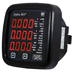 Sifam Tinsley Alpha 30A+ Multifunction Power & Energy Meter w/RS485, Pulse & Analog Outputs