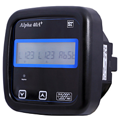 Sifam Tinsley Alpha 40A+ Multifunction Power & Energy Meter w/Backlit LCD Display, RS485 & Pulse Output