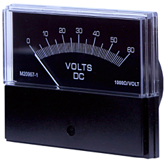 Sifam Tinsley Contender Analog Panel Meter - DC Ammeters