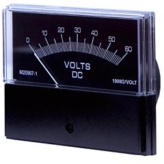 Sifam Tinsley Contender Analog Panel Meter - DC Voltmeters