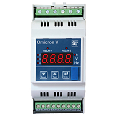 Sifam Tinsley OR10-V58EH02000000 Omnicron-V Series Single Phase/3-Phase Voltage Monitoring Relay w/2 Relay Outputs