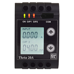 Sifam Tinsley THETA 20V AC Voltage Transducer - Programmable 57-500V Input w/DCmA/DCV Output w/Display & RS485