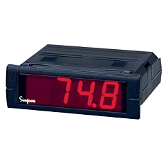 Simpson Electric Mini-Max M240 4-Digit Digital Temperature Meter