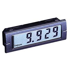 Simpson Electric Mini M135 3.5-Digit Digital Panel Meter