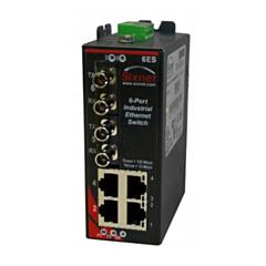 Sixnet SLX-6ES Multimode Unmanaged Ethernet Switch - 6 Port