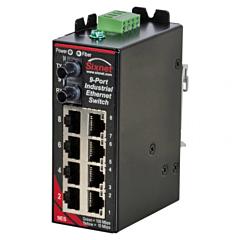 Sixnet SLX-9ES Singlemode / Multimode Unmanaged Ethernet Switch - 9 Port