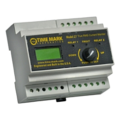 Time Mark Corp. Model 27 True-RMS Current Monitor w/Display