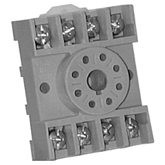 Time Mark Corp. 51012001 8-Pin Surface or DIN-Rail Socket