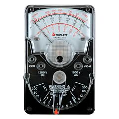 Triplett 3018 Model 310 Hand-held Analog Multimeter - 1200 AC/DCV