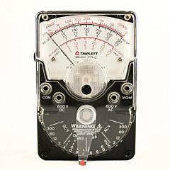 Triplett 3022 Model 310C Hand-held Analog Multimeter - 600 AC/DCV