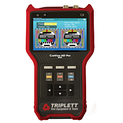 Triplett 8065 CamView HD Pro High Definition Analog Camera Tester - NTSC/PAL, AHD 2.0, HD-TVI 3.0 & HD-CVI 3.0