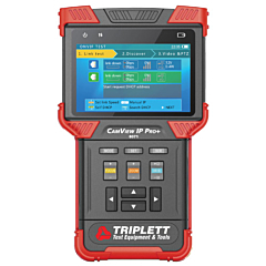 Triplett 8071 CamView IP Pro+ All-in-One IP Security Camera Tester - NTSC/PAL, AHD and TVI with Built-in DHCP Server