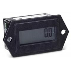 Trumeter 3410-0000 Elapsed Time Meter - 8-Digit, 20-300 ACV/10-300 DCV, Non-Resettable, Hours