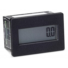 Trumeter 3410-2000 Elapsed Time Meter - 8-Digit, 20-300 ACV/10-300 DCV, Non-Resettable, Hours