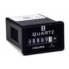 Trumeter 722-0002 Elapsed Time Meter - 6-Digit, 90-264 ACV, Non-Resettable, Hours