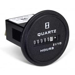 Trumeter 722-0003 Elapsed Time Meter - 6-Digit, 90-264 ACV, Non-Resettable, Hours
