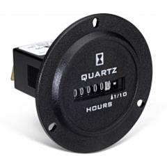 Trumeter 722-0004 Elapsed Time Meter - 6-Digit, 90-264 ACV, Non-Resettable, Hours