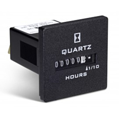 Trumeter 722-0030 Elapsed Time Meter - 6-Digit, 90-264 ACV, Non-Resettable, Hours