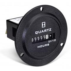 Trumeter 732-0001 Elapsed Time Meter - 6-Digit, 10-80 DCV, Non-Resettable, Hours