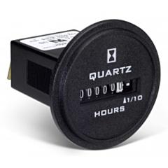 Trumeter 732-0003 Elapsed Time Meter - 6-Digit, 10-80 DCV, Non-Resettable, Hours