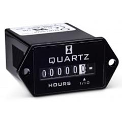 Trumeter 732-0004 Elapsed Time Meter - 6-Digit, 10-80 DCV, Non-Resettable, Hours