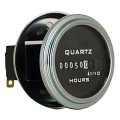 Trumeter 732-0013 Elapsed Time Meter - 6-Digit, 10-80 DCV, Non-Resettable, Hours