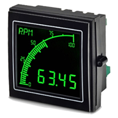 Trumeter APM-RATE Advanced Panel Meter Rate Meter For Rate/Speed/Flow Applications