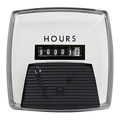 "Yokogawa 240211AAAB - Elapsed Time Meter - 2.5"", 6-Digit, 120V, Non-resettable - Hours"